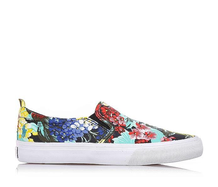 POLO RALPH LAUREN - Chaussure multicolore sans lacets en tissu, avec imprimés de fleurs, fille, filles, femme, enfant-33
