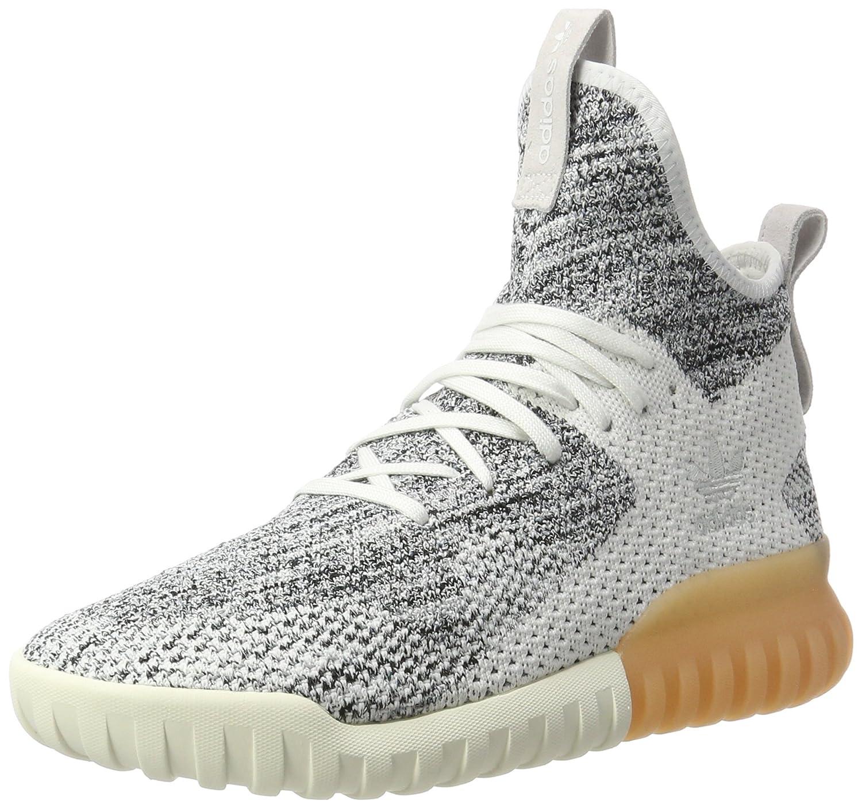 Blanc (Crystal blanc gris gris One Core noir) adidas Tubular X Primeknit, Chaussures de Fitness Homme  pas cher en haute qualité