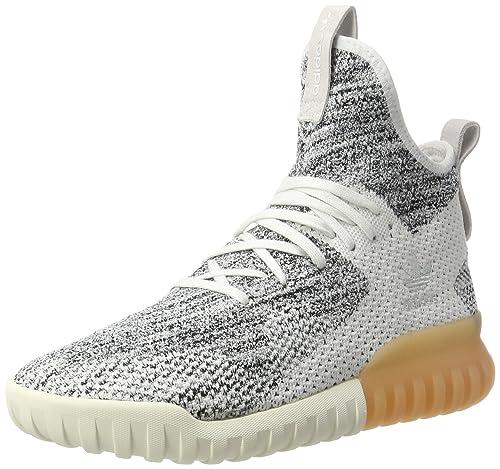 adidas Tubular X Primeknit, Sneaker a Collo Alto Uomo, Bianco (Crystal White/