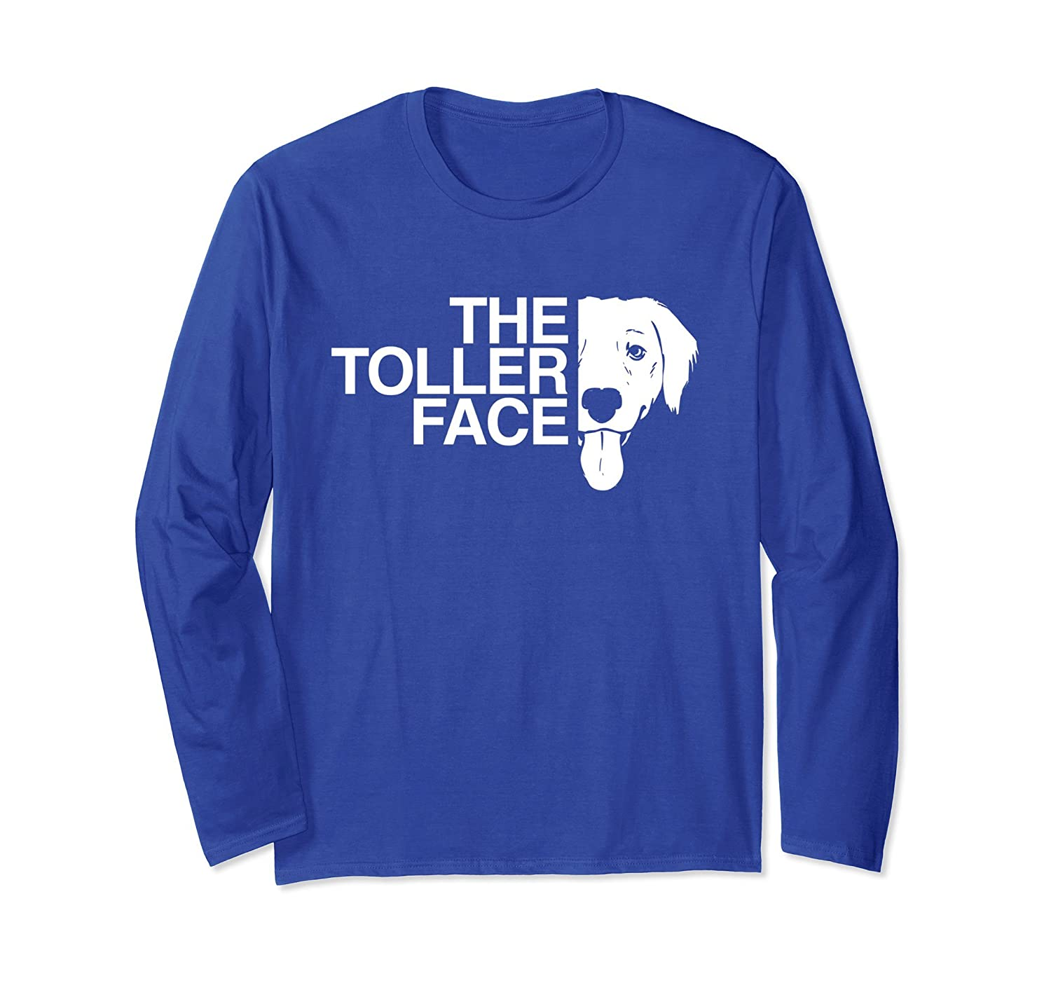 The Toller Face T-Shirt | Long Sleeve Toller T-Shirt-alottee gift