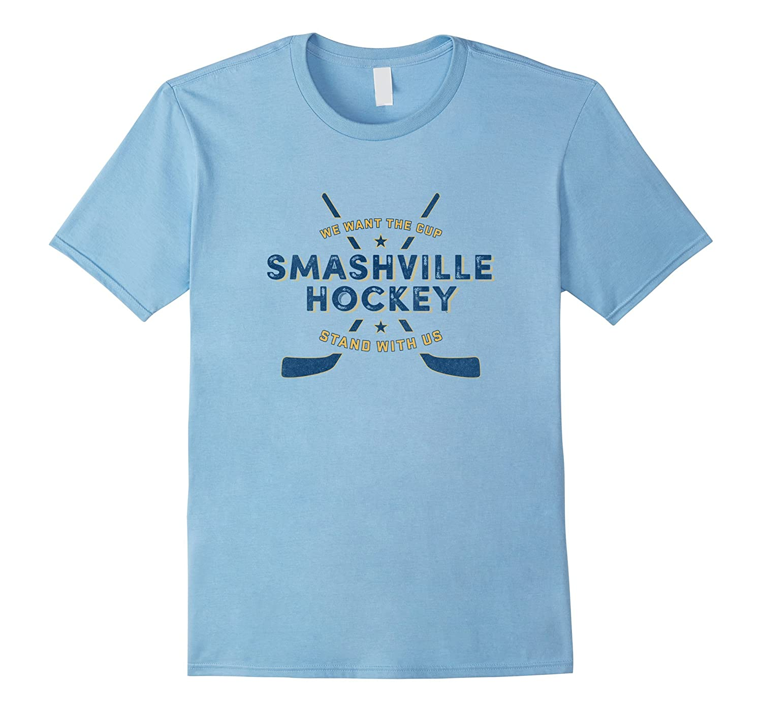 Smashville Hockey for Predators T-Shirt-Vaci