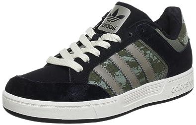 adidas Originals Varial Low, Baskets mode homme Noir Earth Vert