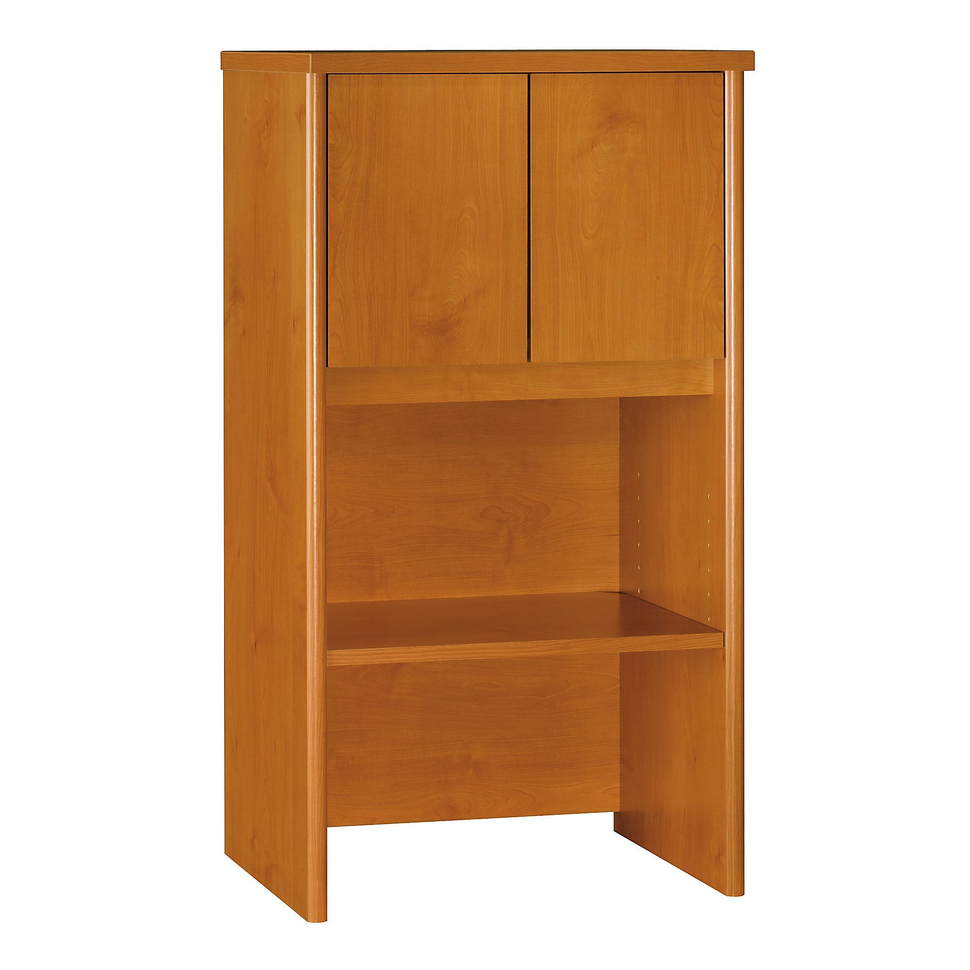 Bush Business Furniture Series C Collection 24W Hutch in Natural Cherry