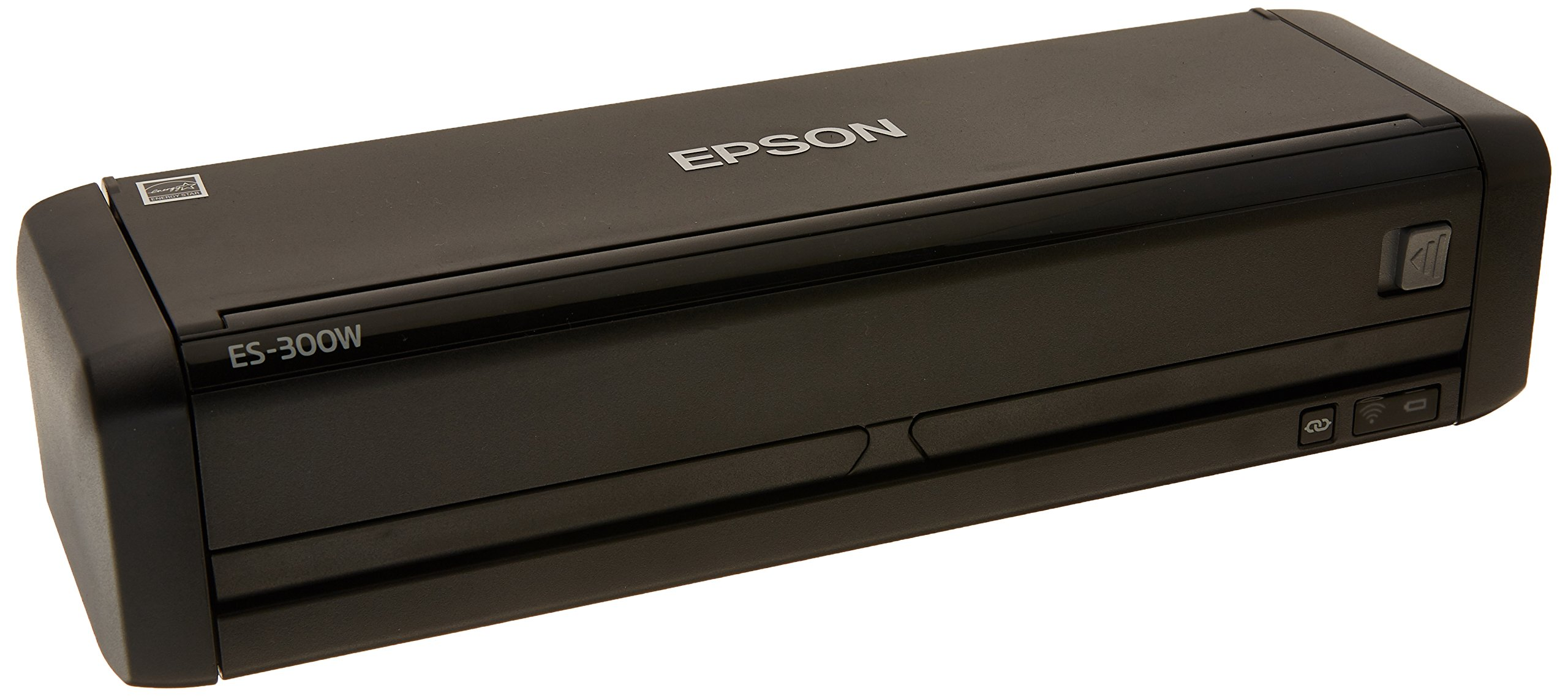 Epson Workforce ES-300W Wireless Color Portable Document Scanner with ADF for PC and Mac, Sheet-fed and Duplex Scanning (Renewed)