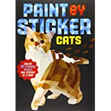 Paint by Sticker: Cats: Create 12 Stunning Images One Sticker at a Time!