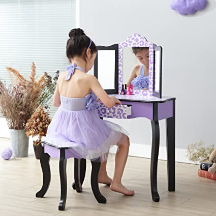 Image Unavailable. Image not available for. Color  Teamson Kids Gisele  Vanity Table ... afdad7838