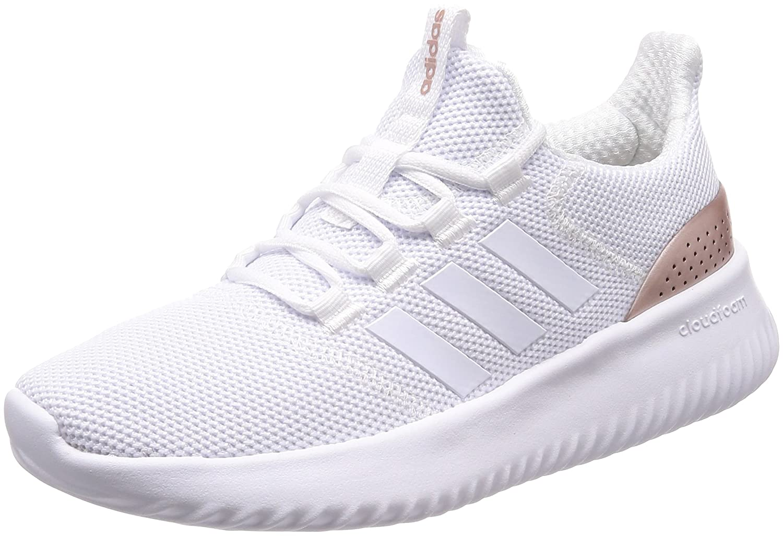Adidas Damen Cloudfoam Ultimate Fitnessschuhe Weiß (Ftwbla/Ftwbla/Gritre 000)