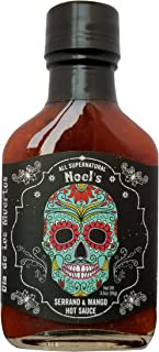 "product image for Noel's Dia de Los Muertos ""All Supernatural"" Serrano & Mango Hot Sauce, 3.5 Ounce"