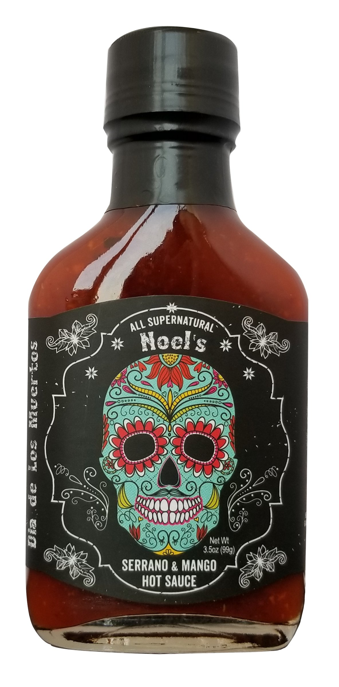 Noel's Dia de Los Muertos''All Supernatural'' Serrano & Mango Hot Sauce, 3.5 Ounce