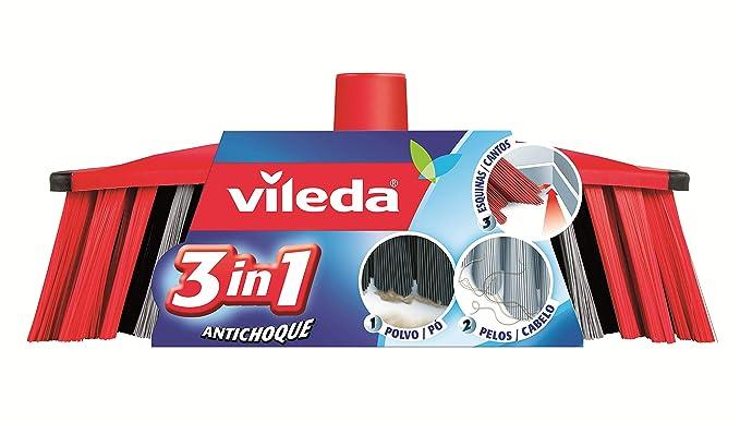 Vileda - Recambio Cepillo Antichoque 3En1