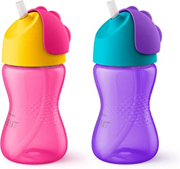 2-Pack Philips Avent My Bendy Straw 10-oz. Cup
