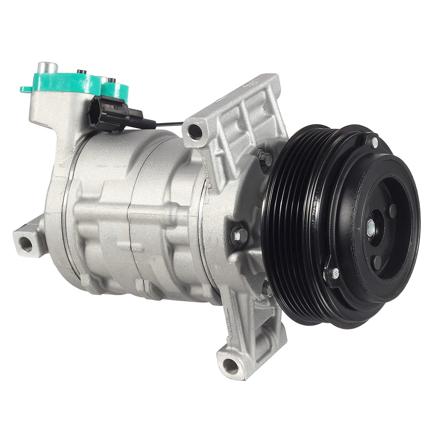 Amazon.com: AC Compressor & A/C Clutch CO 11155C 57887 Replacement for 2007 2008 2009 2010 2011 Nissan Versa 1.8L: Automotive