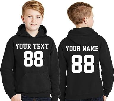 Personalised Name Hooded Baby//Children Hoodie Sweatshirt Gift Jumper Blouse
