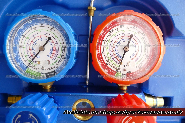 Air conditioning Heat pump Gauge manifold tool R32 R290