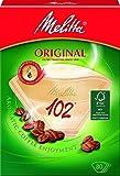 """80 x Filtertüten / Kaffeefilter """"Melitta Original 102"""" (Naturbraun / 3 Aromazonen-Filter)"""