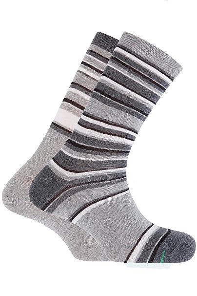 Punto Blanco - Pack de 2 calcetines deportivos algodón Punto Blanco - GRIS, U