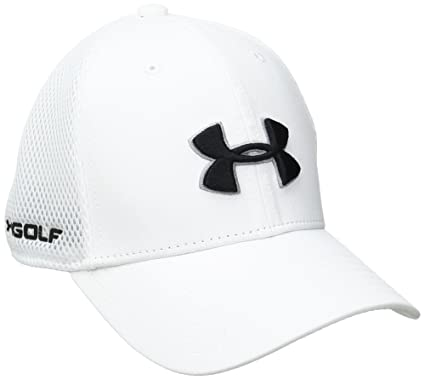 Amazon.com   Under Armour Boys  Classic Mesh Golf Cap   Sports   Outdoors db6980337f8