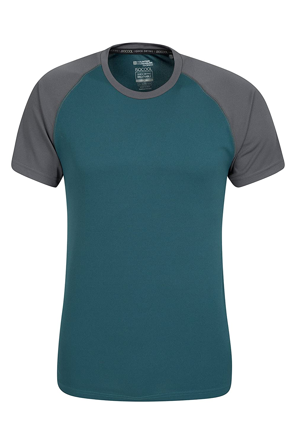 Contoh design t shirt family day - Mountain Warehouse Endurance Men S T Shirt Breathable Uv Protection With Isocool Quick