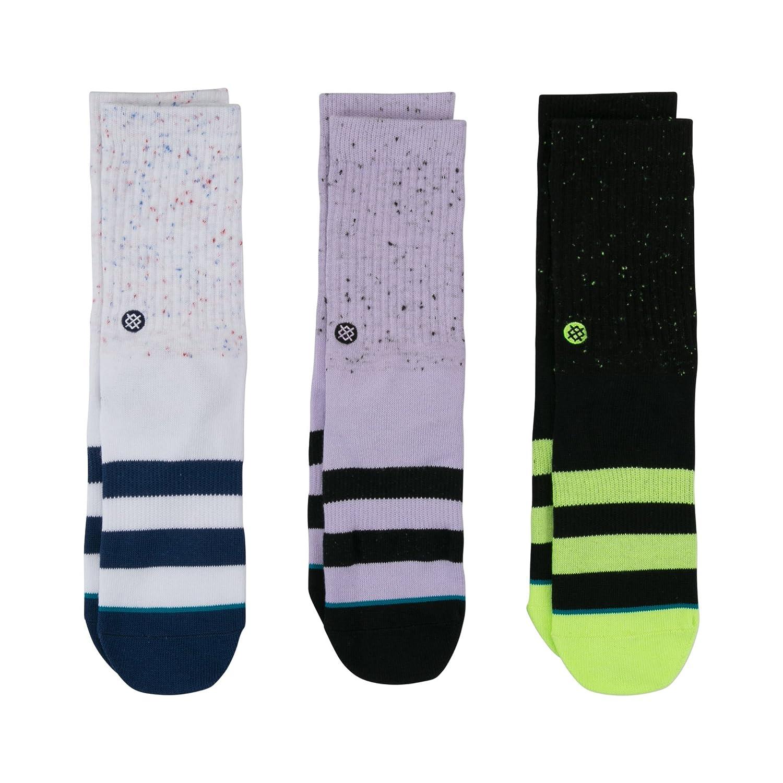 Stance B526C18VPK Boys' Vibe 3 Pack Sock