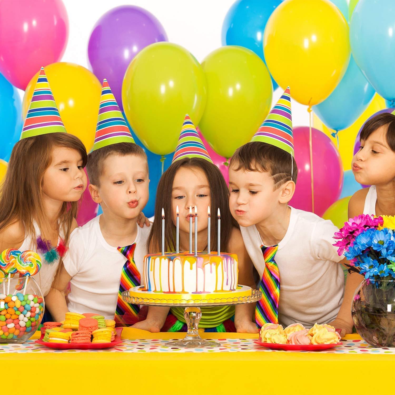 Geburtstag Kuchen Kerzen,36 St/ück Lange Geburtstagskerzen D/ünne Kerze f/ür Geburtstag Hochzeit Baby Shower Party Kuchen Dekorationen Champagner