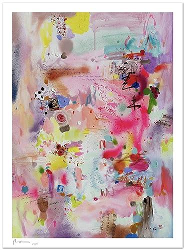 Reproducción de arte - Art II - sobre papel de acuarela 300g/m² con textura, de alta calidad: Amazon.es: Handmade