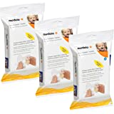 Medela Quick Clean Breast Pump and Accessory Wipes, 72 Wipes in a Resealable Pack, Convenient Portable Cleaning…
