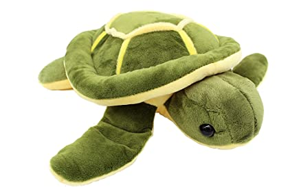 amazon com vintoys soft plush sea turtle stuffed animals plush 10