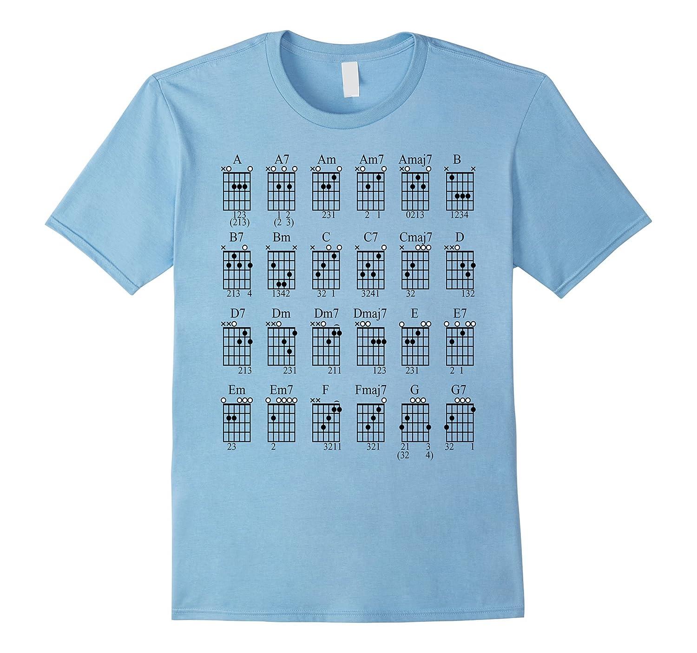 Az Store Guitar Bar Chords T Shirt Rt Rateeshirt