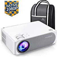 "VANKYO Performance V630 Native 1080P Full HD Projector, 6500 LUX 300"" LED Projector w/ ±45° Electronic Keystone Correction, Compatible w/ TV Stick, HDMI, Laptop, Smartphone for Home/Business Use"