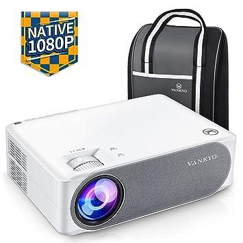 Proyector de 6500 lúmenes, resolución nativa de 1080p, Full HD ...