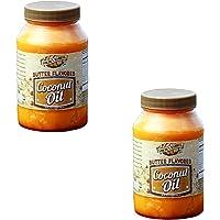 Golden Barrel Butter Flavored Coconut Oil (32 oz.) 2 Pack