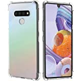 Arae Case for LG stylo 6, Premium Soft and Flexible TPU [Scratch-Resistant] Phone Case for LG stylo 6, Crystal Clear, 6.8-Inc