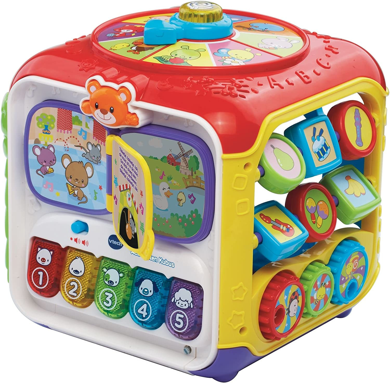 VTech Baby Activiteiten Kubus juguete interactivos - Juguetes interactivos (Multicolor, De plástico, 3 año(s), Niño/niña, Holandés, CE) , color/modelo surtido