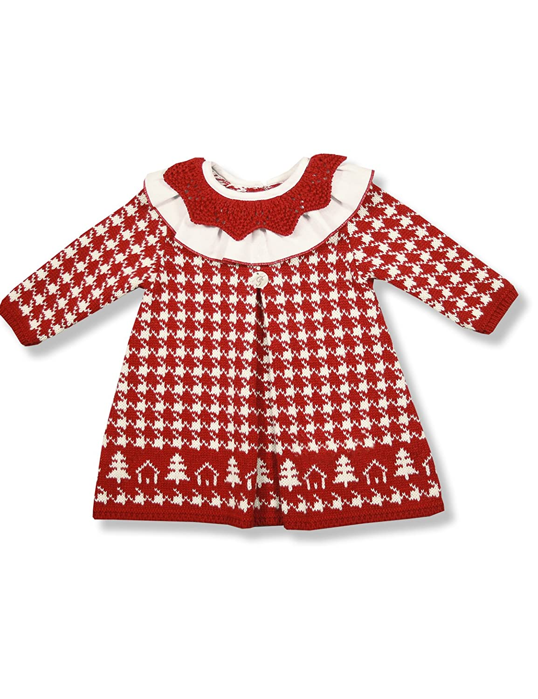Foque Cuento de Navidad, Vestido para Bebés, Rojo, 92 (Tamaño del ...