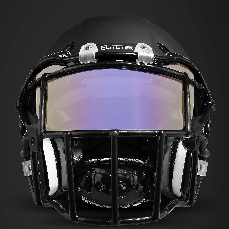 Tinted Barnett Football and Lacrosse Helmet Eye-shield Visor