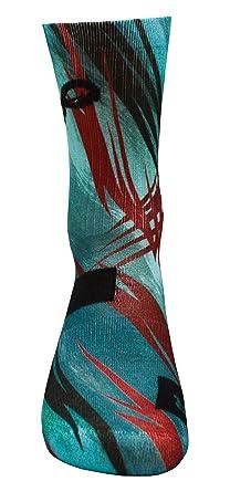 STYLE FOREVER Inspire Series Relámpago Tormenta - Active Athletic Calcetines deportivos personalizados: Amazon.es: Ropa y accesorios