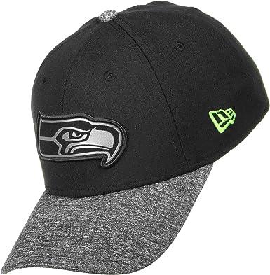 NFL Seattle Seahawks Grey Collection 39Thirty Stretch Fit Cap (New Era)   Amazon.co.uk  Clothing 959c455c7