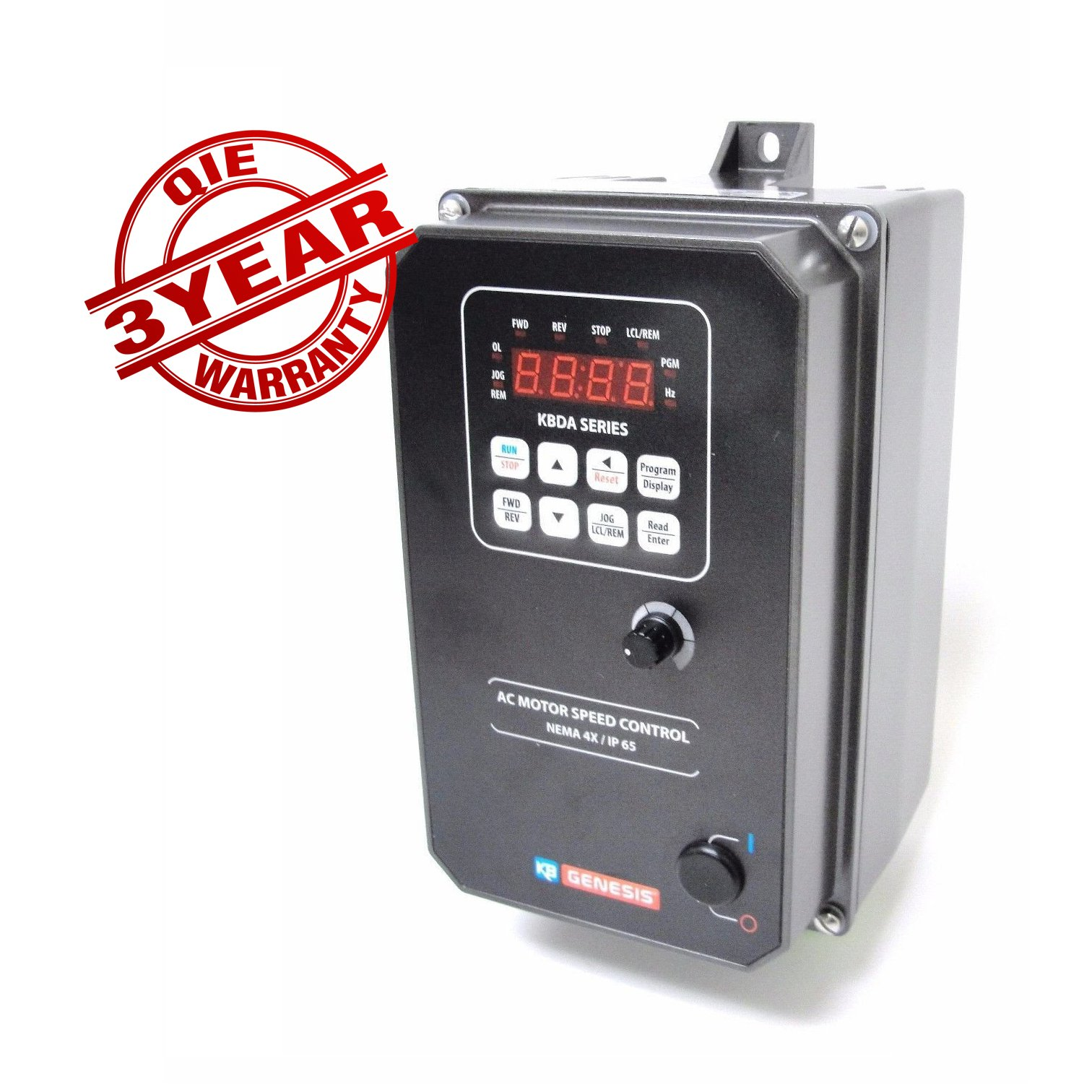 KBDA-24D (9536Q) with QIE Exclusive 3 YEAR Warranty, Digital AC Drive