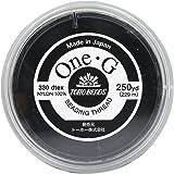 TOHO One・G ビーズステッチ専用糸 得用大巻 #40 黒 約229m PT-2