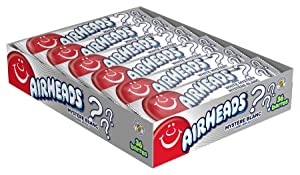 AIRHEADS CANDY INDIVIDUALLY WRAPPED BARS, WHITE MYSTERY, PARTY, 0.55 OUNCE