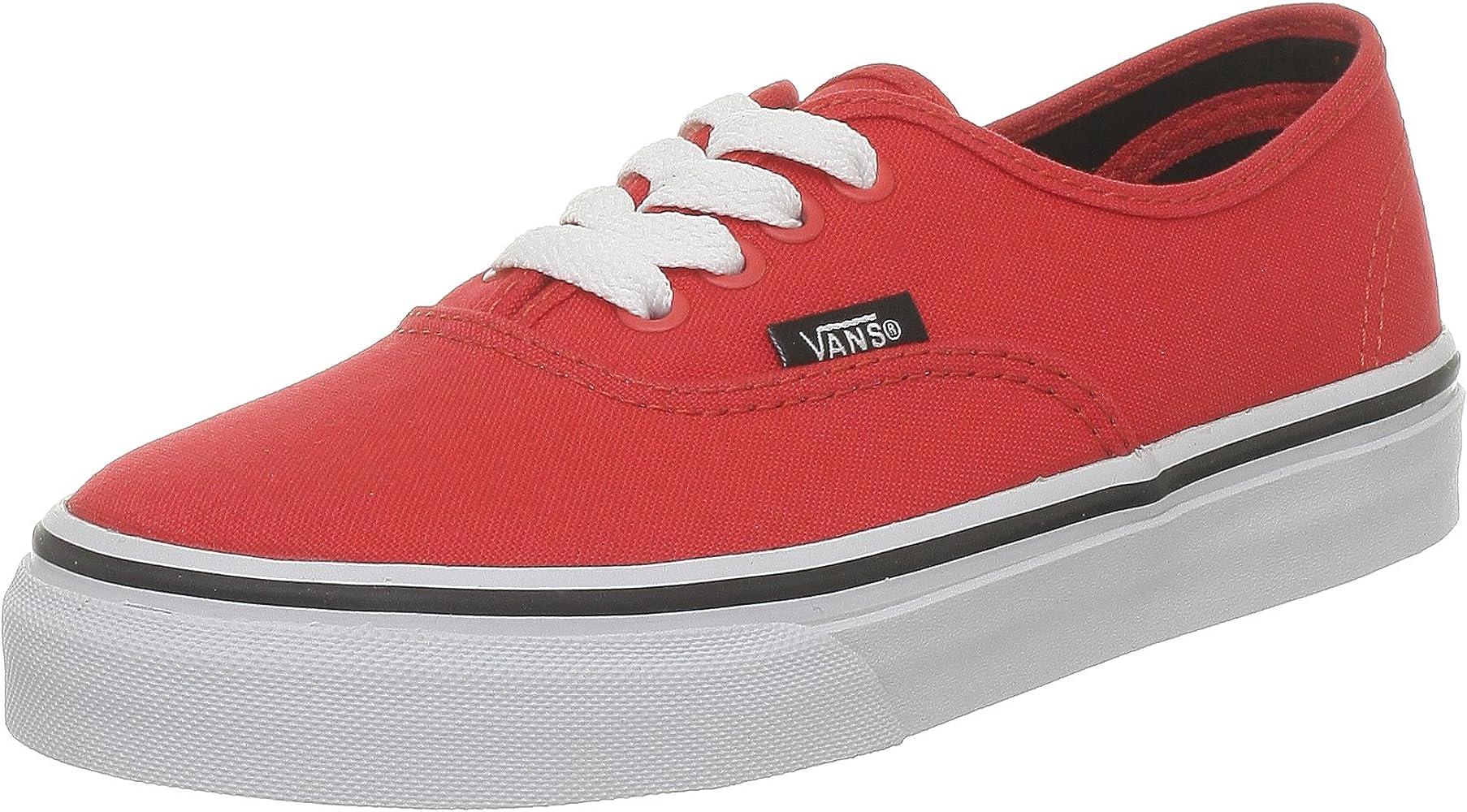 Vans Zapatillas para Mujer, Color Rojo, Talla 30.5 EU