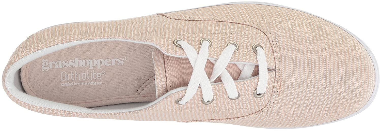 Grasshoppers Women's Janey Ll Textural Stripe US|Stone Sneaker B072Z78YK8 8.5 W US|Stone Stripe a727be