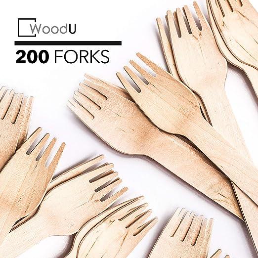 Nouveau jetables en bois couteaux biodégradable compostable//Eco Friendly//Qualité