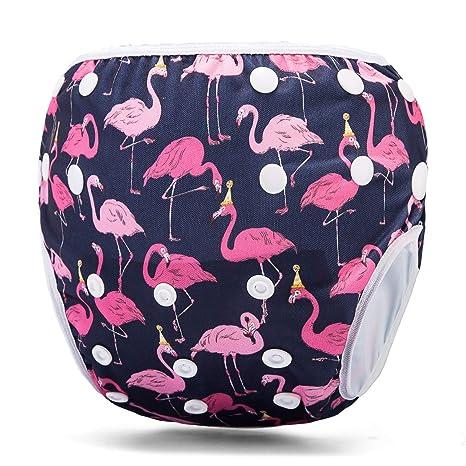Storeofbaby Pañales de bebé para niñas traje de baño reutilizable ...