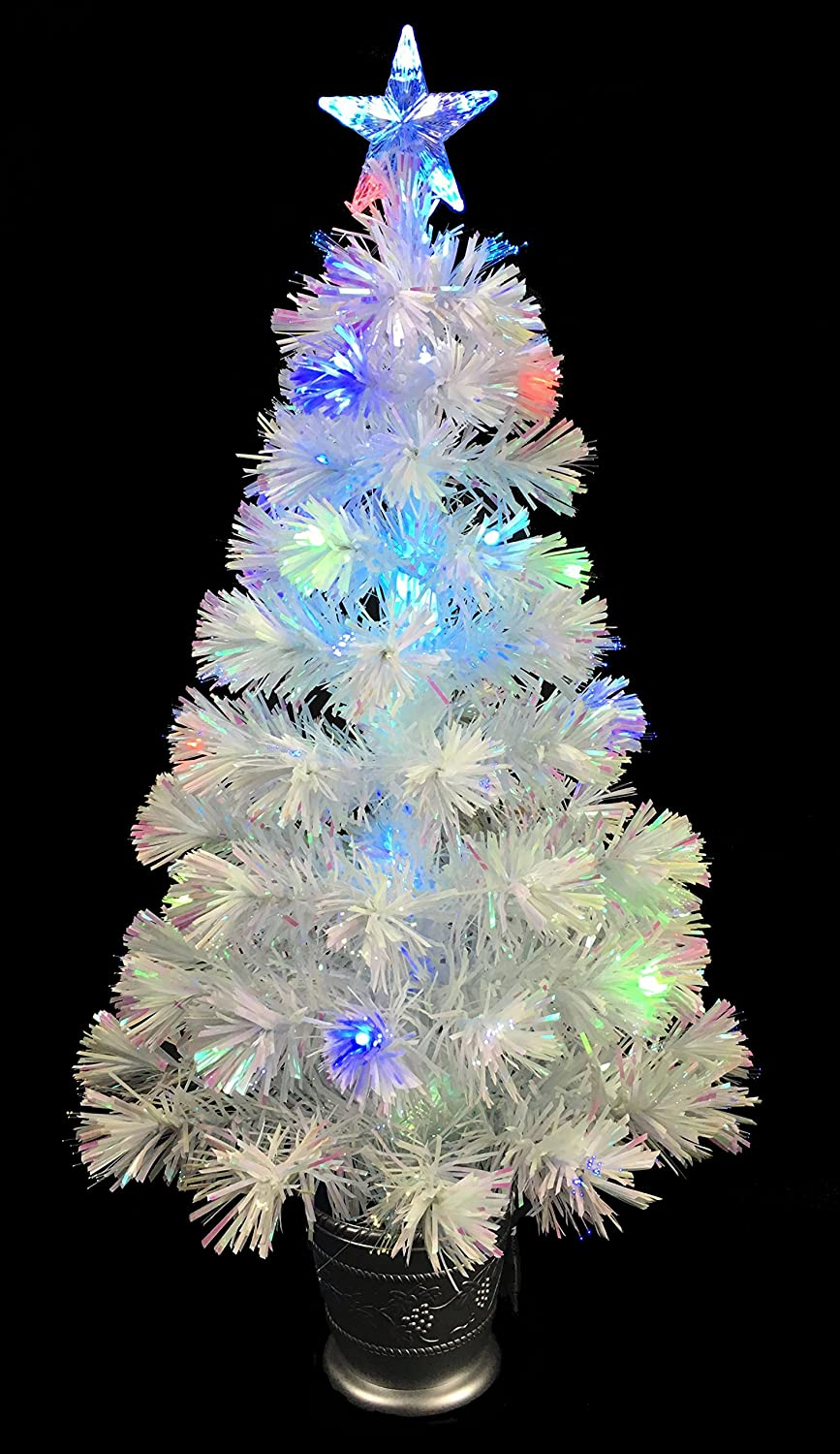 Amazon.de: Christmas Concepts® 36 Zoll (3FT) Irisierend LED Fiber ...