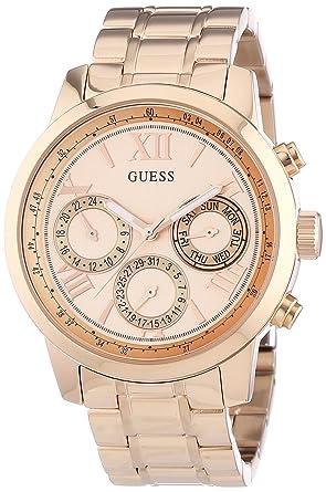 61e488eaf4e5 Guess Reloj de Pulsera W0330L2  Amazon.es  Relojes