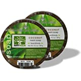 Neem Soap - Coconut 2-Pack - Face & Body - Glycerin, Coconut Oil & Neem - Relieve Dryness and Maintain Healthy Skin - 4.2 oz