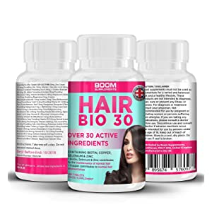 Hair Vitamins | #1 Hair Growth Products For Women | Biotin Hair Treatment Tablets | 120 Hair Vitamins Tablets | FULL 4 Month Supply | Helps Grow Hair | Achieve Thicker, Fuller Hair FAST | Safe And Effective | Best Selling Hair Growth Pills | Manufactured In The UK!