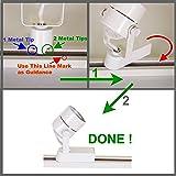 Direct-Lighting 50005 White PAR30 Gimbal Ring Line