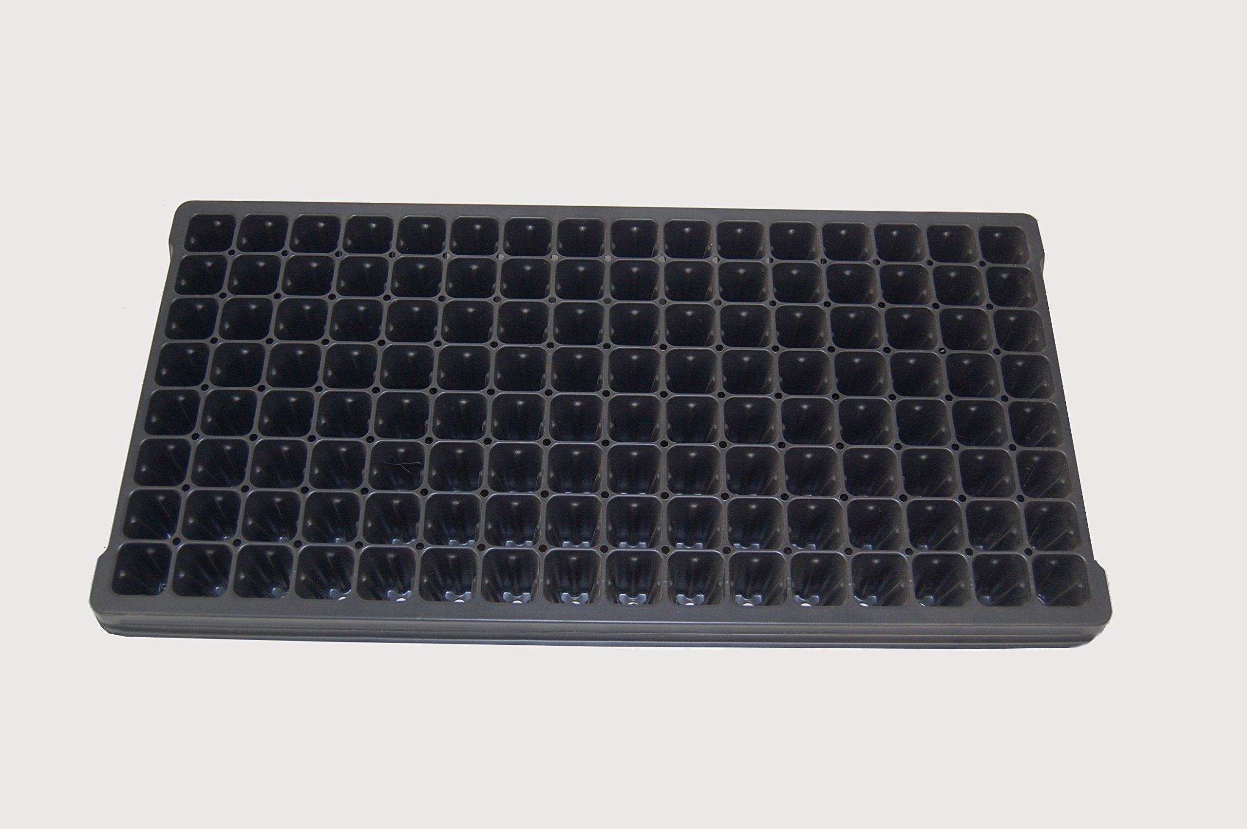 128 Cell Vented Plug Tray - Propagation/Seed Starting Tray - 100 trays by Growers Solution by Grower's Solution